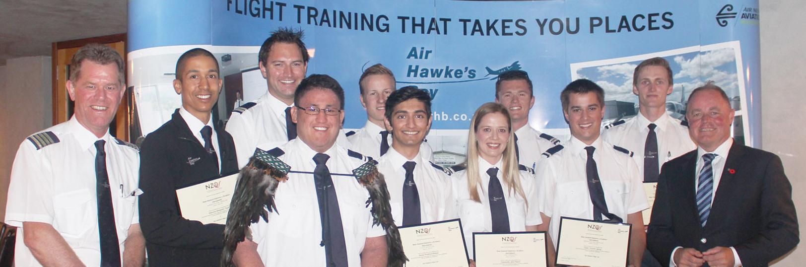Pilot Graduation