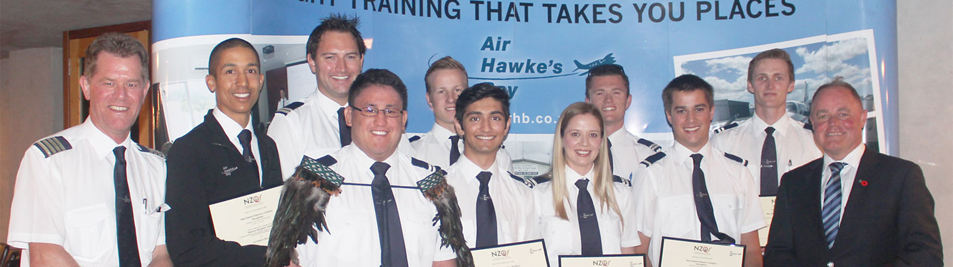 Air Hawkes Bay Graduation